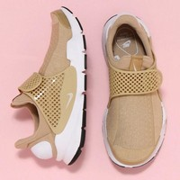 NIKE Sock Dart Net Sneakers Shoes Women Men Fashion Running Sport Casual Shoes Sneakers khaki