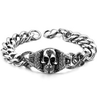 Great Deal Gift Awesome Shiny Stylish Hot Sale New Arrival Men Titanium Jewelry Classics Bracelet [10783257411]