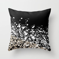 You Fancy Huh? Throw Pillow by Lynsey Ledray