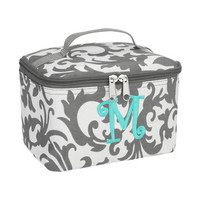 Personalized Monogramed Small Cosmetic Bag,Case, Makeup bag