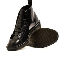 Dr Martens Made in England Classic Monkey Boot Black - New In at The Idle Man