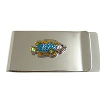 Colorful Tropical Fish Money Clip