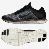 Nike Free 3.0 V5 EXT 579828 001 Black/Sail/White Running WMNS Women's Shoes (Size 7)
