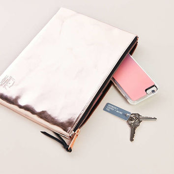 Herschel Supply Co. Network Large Metallic Pouch - Urban Outfitters