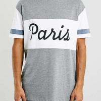 Grey Paris Oversized T-Shirt