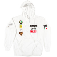 "Club Foreign Italy Series Hoodie ""White"""