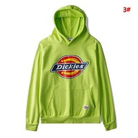 Dickies New fashion letter print couple hooded long sleeve sweater 3#
