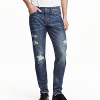 Slim Low Jeans - from H&M