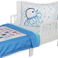 A, B under the Cs Toddler Bedding Set