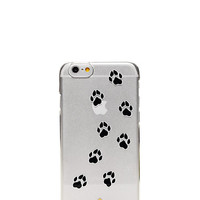 Kate Spade Paw Print Resin Iphone 6 Case Clear ONE