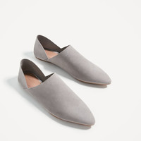 JOIN LIFE FLAT LEATHER SHOES DETAILS