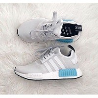 """""""ADIDAS"""" Women Running Sport Casual NMD Shoes Sneakers Blue"""
