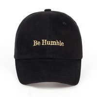 Trendy Winter Jacket 2018 new TUNICA High quality men women be humble Dad Hat Baseball Cap Polo Style embroidery Fashion Unisex Dad cap hats AT_92_12