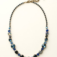Graduated Classic Necklace in Dress Blues by Sorrelli - $210.00 (http://www.sorrelli.com/products/NCP38AGDBL)