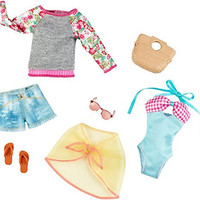 Barbie Fashion Complete Look 2-Pack, Beach Set