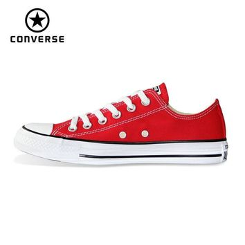 CONVERSE all star shoes Chuck Taylor sneakers man and woman's Skateboarding Shoes 101007