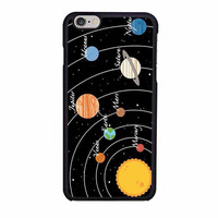 solar system planet stars and space case for iphone 6 6s