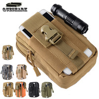 Men's Bag edc Tactical Molle Waist Pack Hip Bag Phone Case Sport Casual Waist Bag Fanny Pack Running Bag Military Tactical Pouch