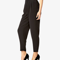 Crepe Woven Trousers