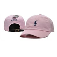 Pink Polo Ralph Lauren Classic Chino Sports Cap