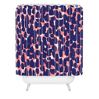 Rebecca Allen Bem Bem Shower Curtain