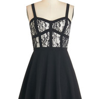 ModCloth A-line And All That Snazz Dress