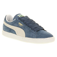Puma SUEDE CLASSIC ENSIGN BLUE WHITE Shoes - Puma Trainers - Office Shoes