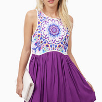 Colorworks Skater Dress