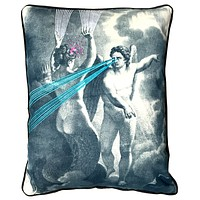 Embroidered Ray Of Light Pillow