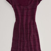 AEO Women's Shimmer Fit And Flare Dress
