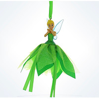 disney parks christmas tinker bell tulle ornament new with tags