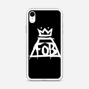 Fall Out Boy Sparkle iPhone XR Case