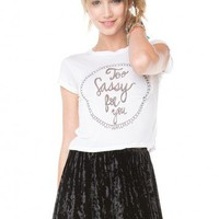 Brandy ♥ Melville |  Too Sassy For You Top - Clothing