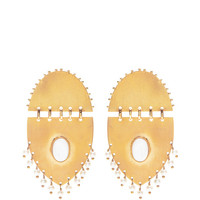 Jarama Earrings With Pearls by Paula Mendoza - Moda Operandi