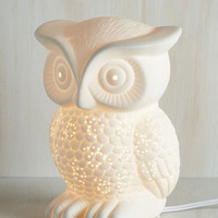 Dorm Decor Nocturn-owl Lifestyle Lamp by ModCloth