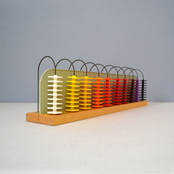 Vintage Ideal School Supply Company Counting Toy or Abacus