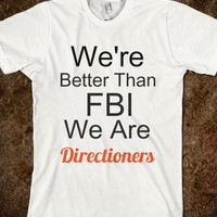 better than FBI-Unisex White T-Shirt