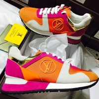 Louis Vuitton LV Woman Fashion Run Away Sneaker