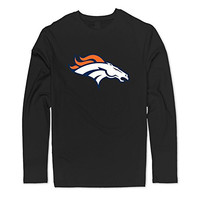 Seico Men 2016 NFL Denver Broncos American Football T-shirts Black Size XL
