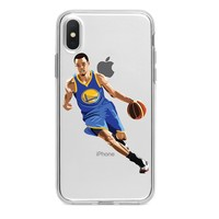 STEPH CURRY CROSSOVER CUSTOM IPHONE CASE