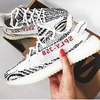 ADIDAS YEEZY BOOST 350 Tide brand retro men's and women's wild sports shoes