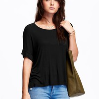 Old Navy Womens Boxy Tees