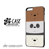 We Bare Bears DEAL-11852 Apple Phonecase Cover For Iphone 6/ 6S Plus