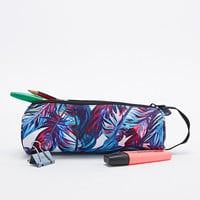 Mi-Pac Pencil Case in Feather Print - Urban Outfitters