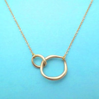 Infinity, Karma, Gold, Silver, Necklace