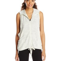 Betsey Johnson Women's Hooded Vest