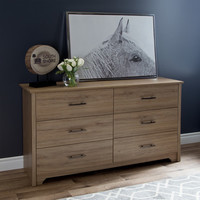 South Shore Fusion 6 Drawer Dresser & Reviews | Wayfair