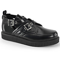 Demonia Double Buckle Straps One Inch Creepers