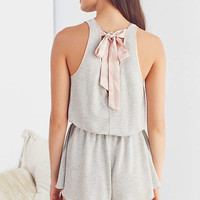 Out From Under Chrissy Tie-Back Romper | Urban Outfitters