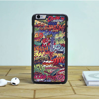 Action Packed Pow Comic Stickerbomb iPhone 6S Case Dewantary